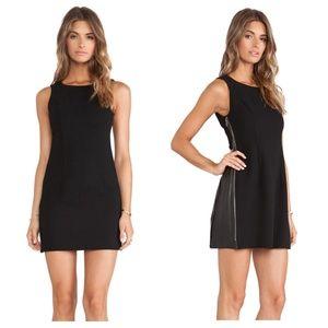 BCBGeneration black multi-way mini dress size 6